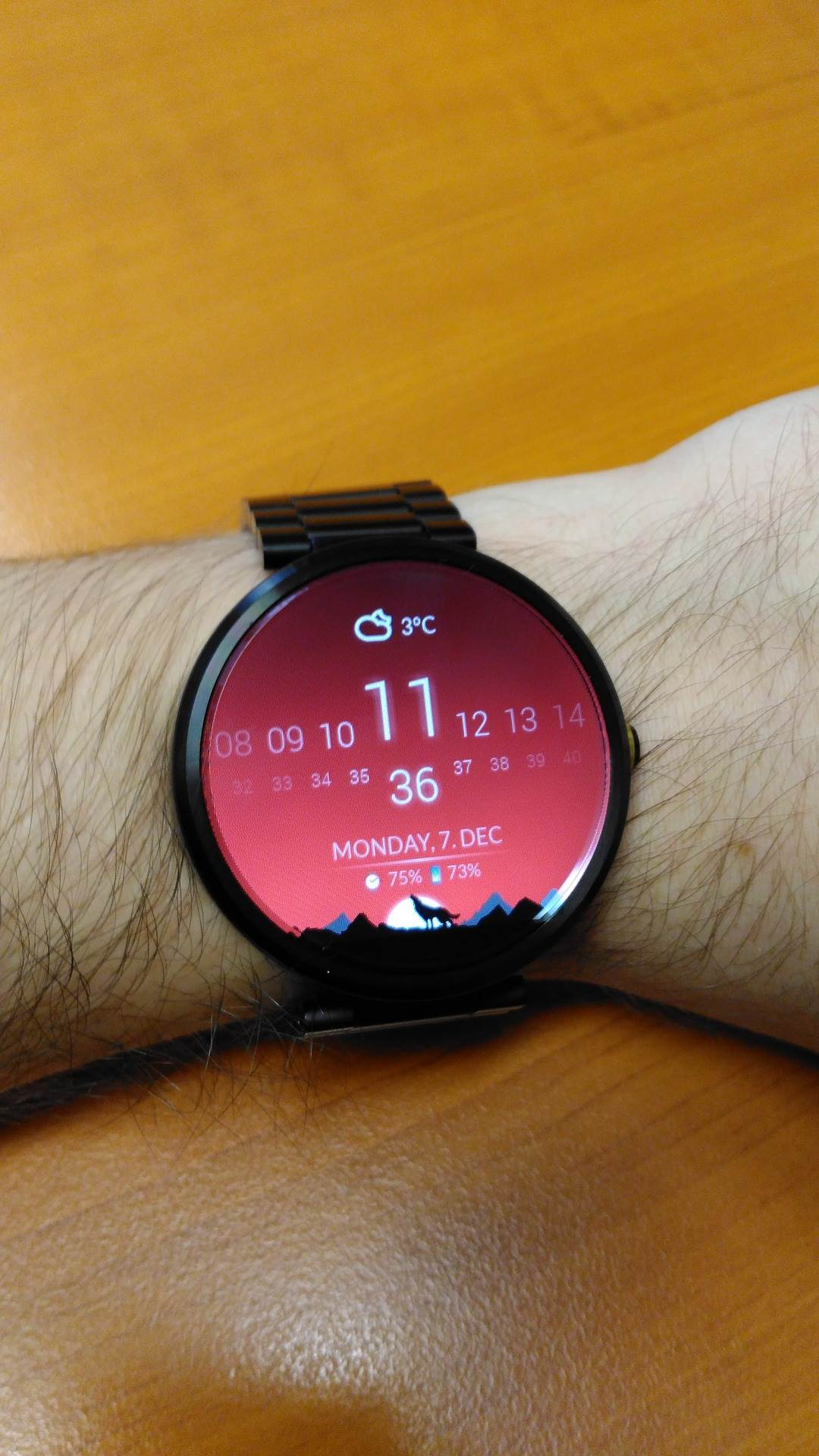 Android Wear with Speaker