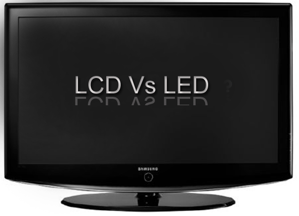 what is the difference between and lcd and led tv