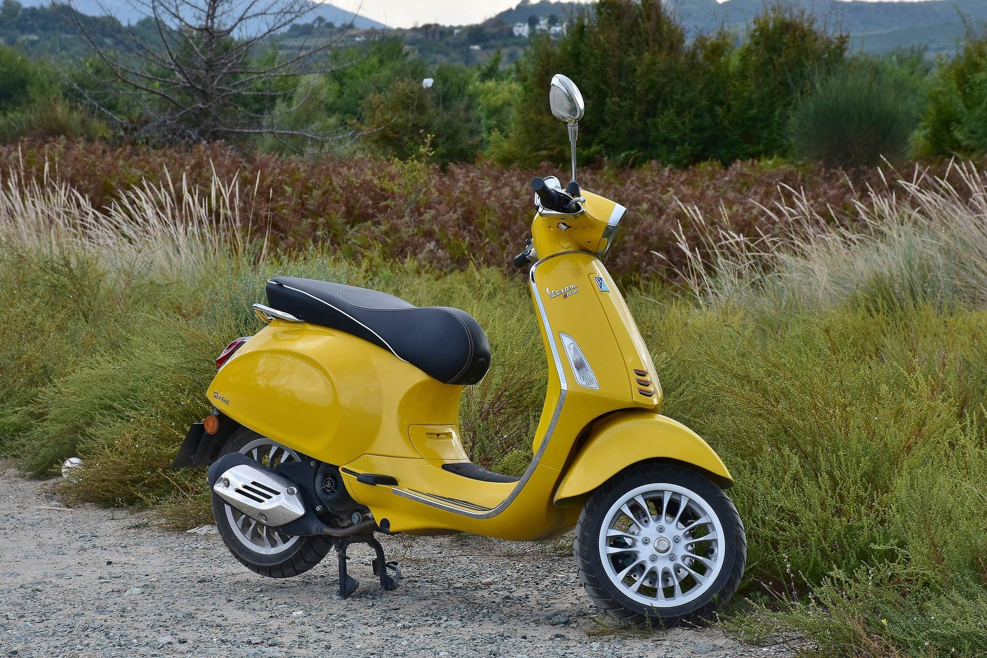 Moped scooters