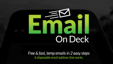 Email on deck