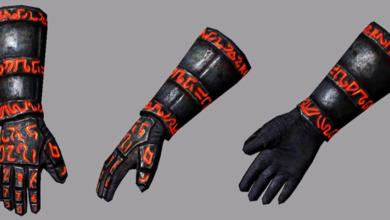 PoE unique gloves